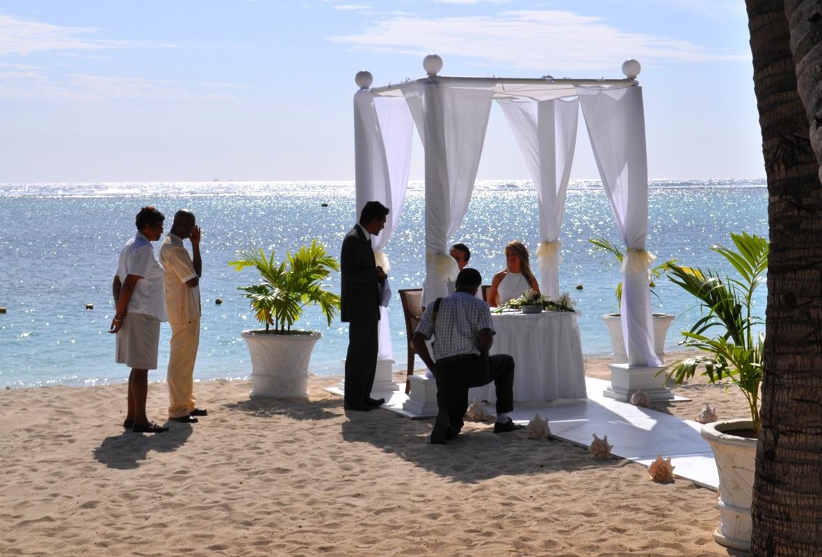 wedding couple mauritius