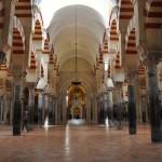 Katedrála v Córdobe - stĺpy