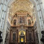 Hlavný oltár - katedrála Córdoba