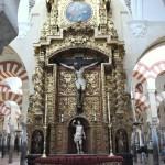 interiér katedrály v Córdobe