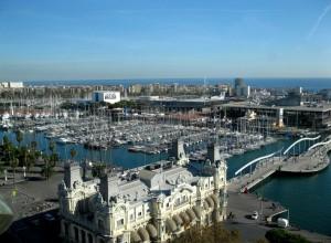 Barcelona prístav