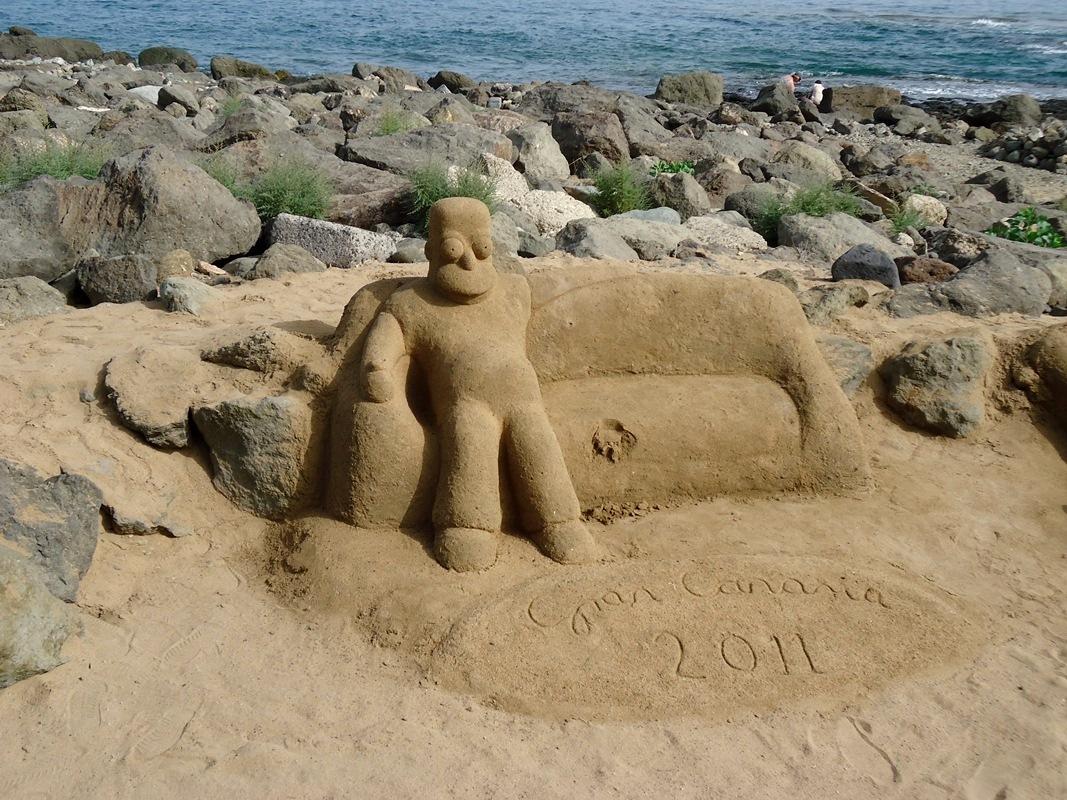 Maspalomas pieskové dielo