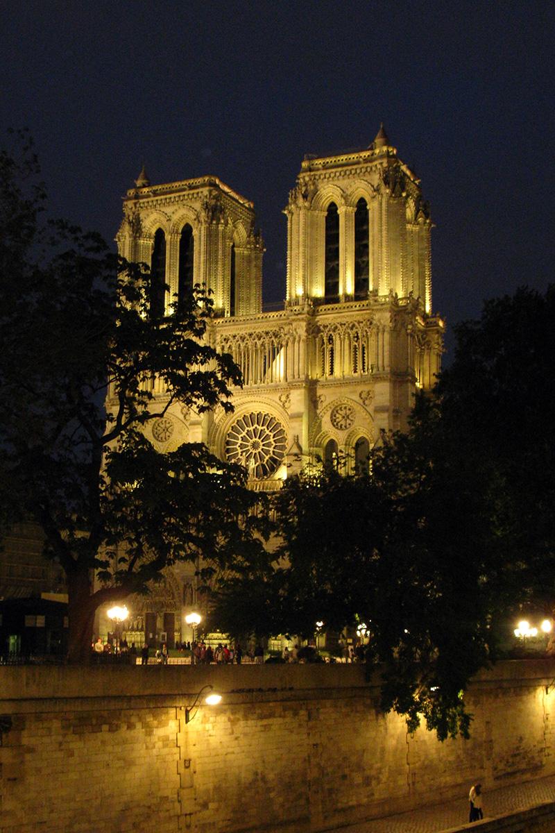 Notre Dame - chrám matky božej v Paríži