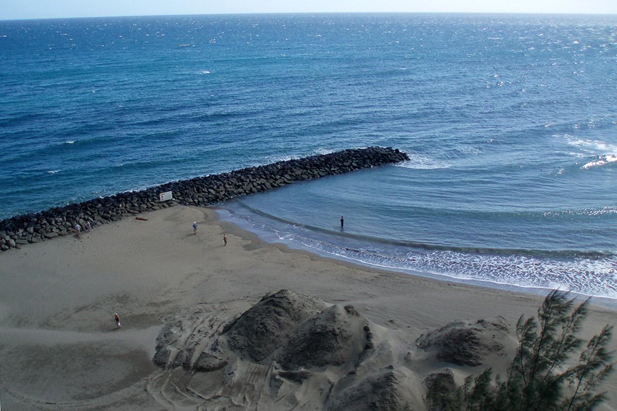 Záliv Playa del Inglés
