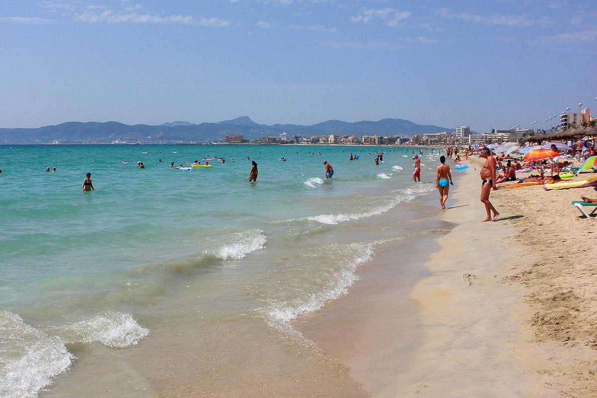 Playa de Palma - najkrajšie pláže Malorka