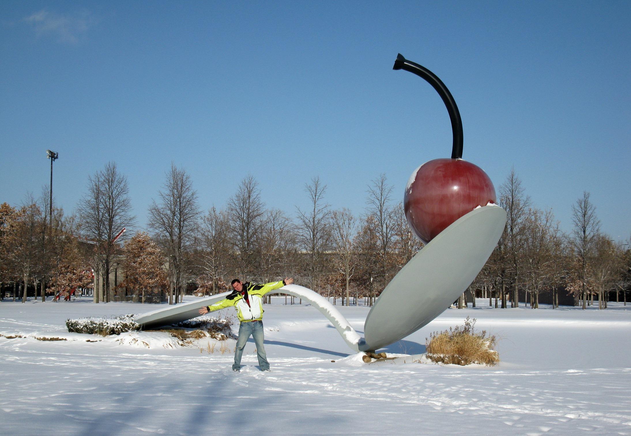 čerešňa socha - Minnesota