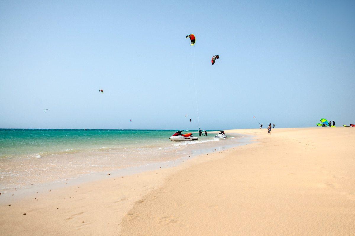 Fuerteventura - kanárske ostrovy
