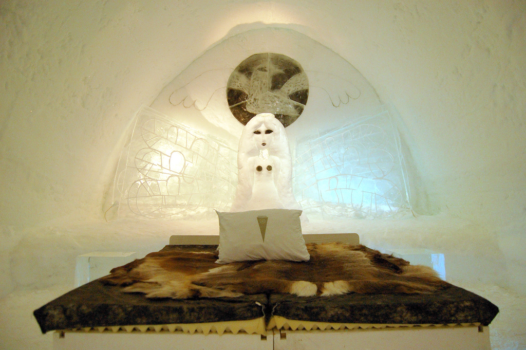 izba ľadový hotel