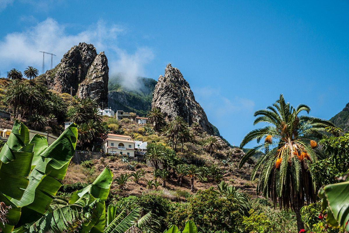 La Gomera - kanárske ostrovy