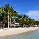 najkrajšie pláže Maurícius