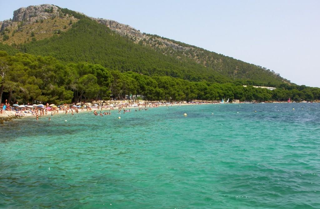 Playa Formentor, Malorka