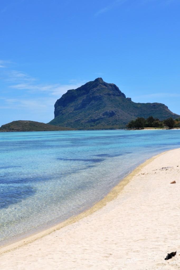 pláž na juhu ostrova Maurícius