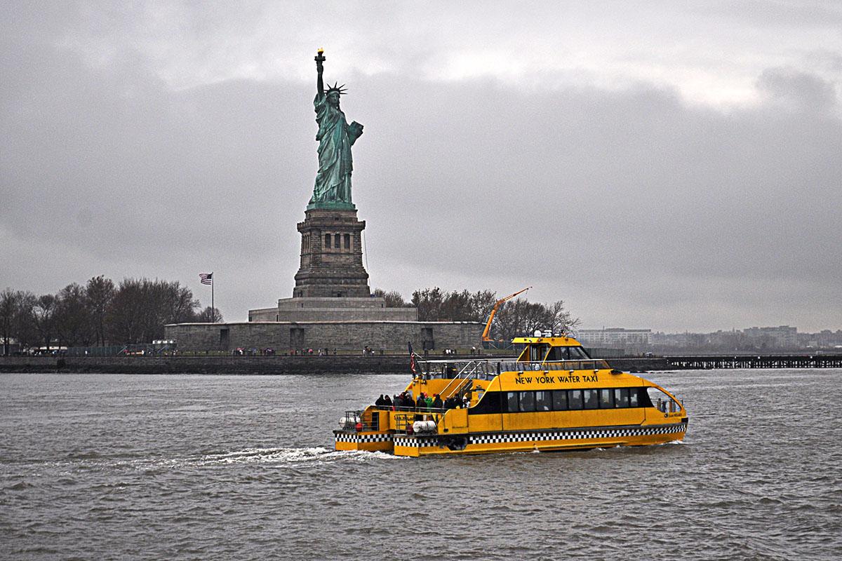 NYC socha slobody