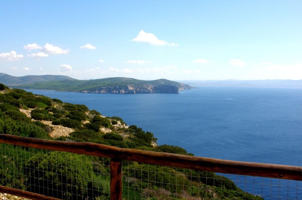 Cappo Caccia - výhľad