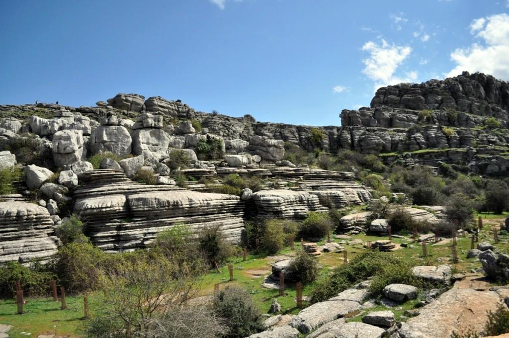 El Tórcal vápencové skaly