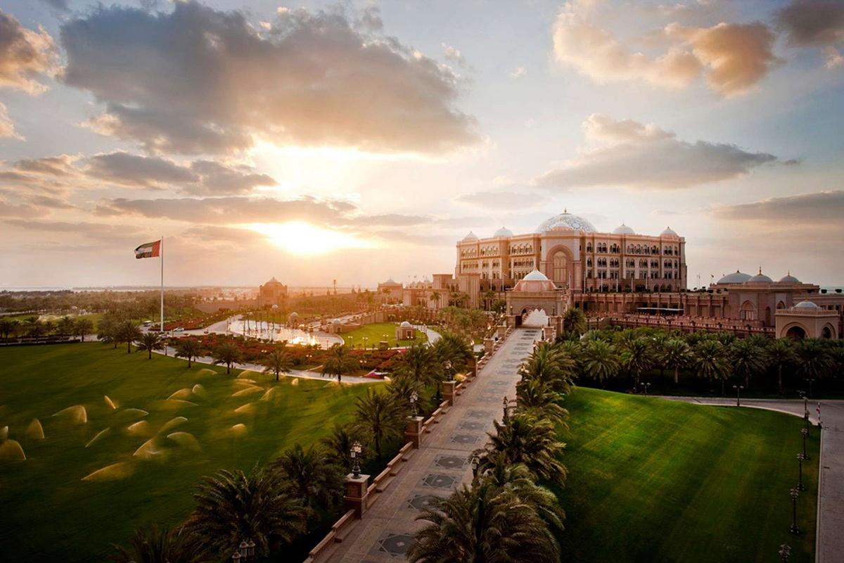 Emirates Palace Abu Dhabi - najluxusnejšie hotely