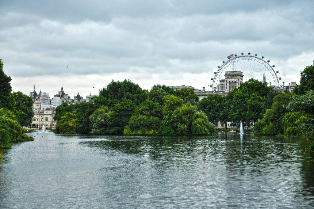 St James park - Londýn