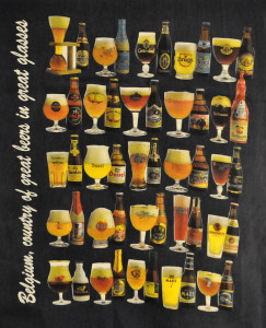 Belgicko - druhy piva