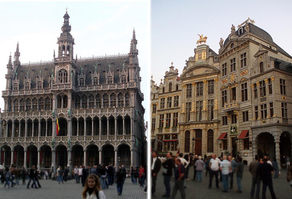 Brusel - námestie Grote Markt