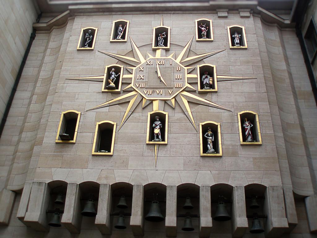 Brusel - hodiny