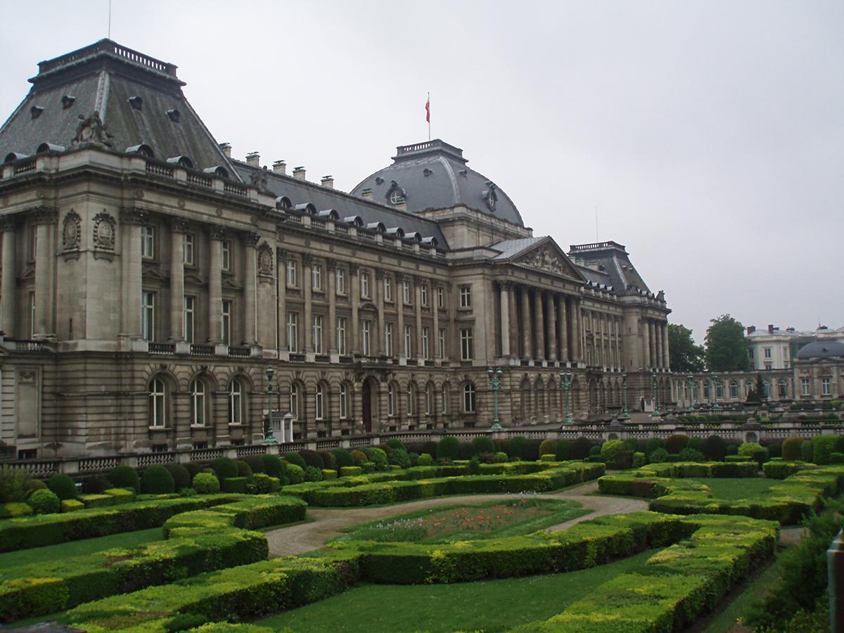 Belgicko - Brusel - kráľovský palác