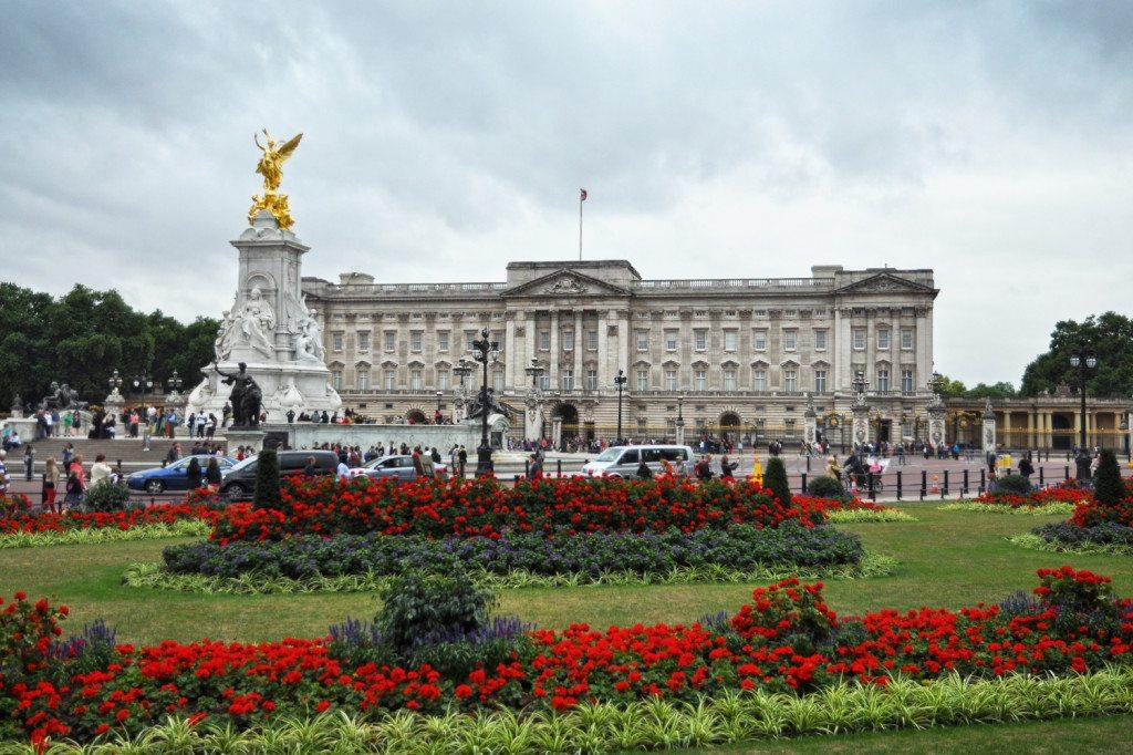 Buckinghamský palác - Londýn