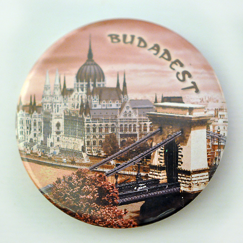 Budapešť magnetky
