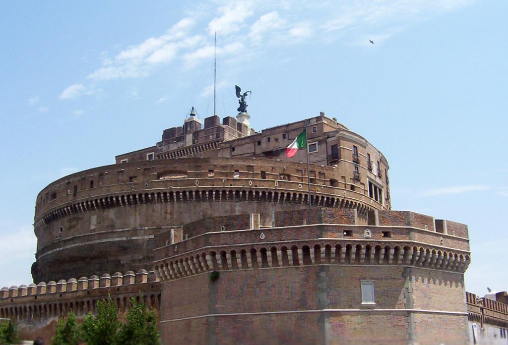 Taliansko - Anjleský hrad v Ríme