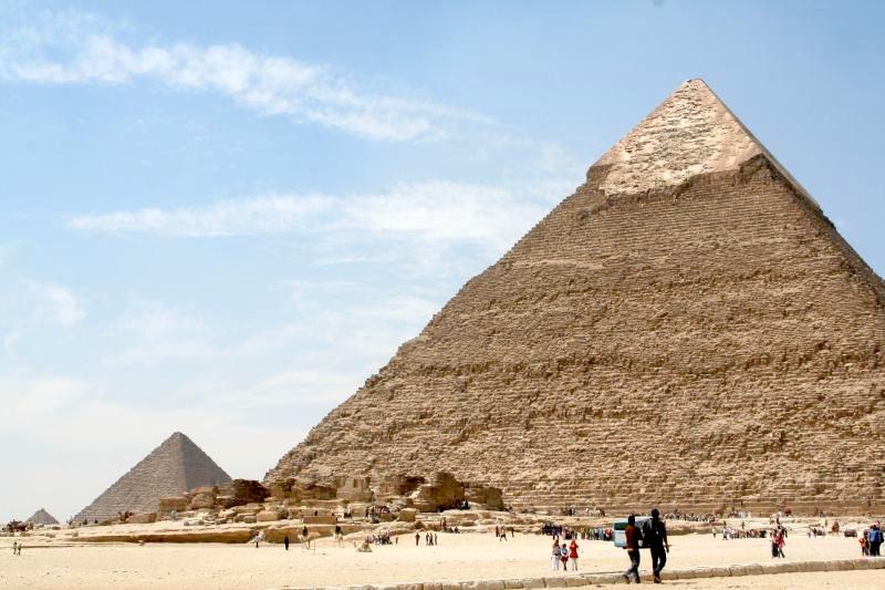 Egyptske pyramidy