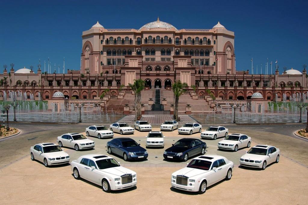 najluxusnejšie hotely - limuzíny