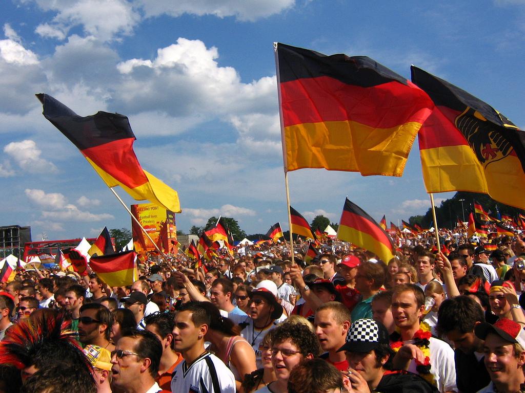 Nemecko fanúšikovia