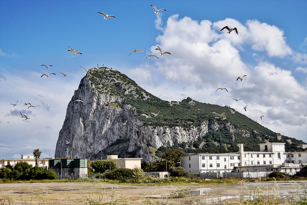 Gibraltar hranice s Andalúziou