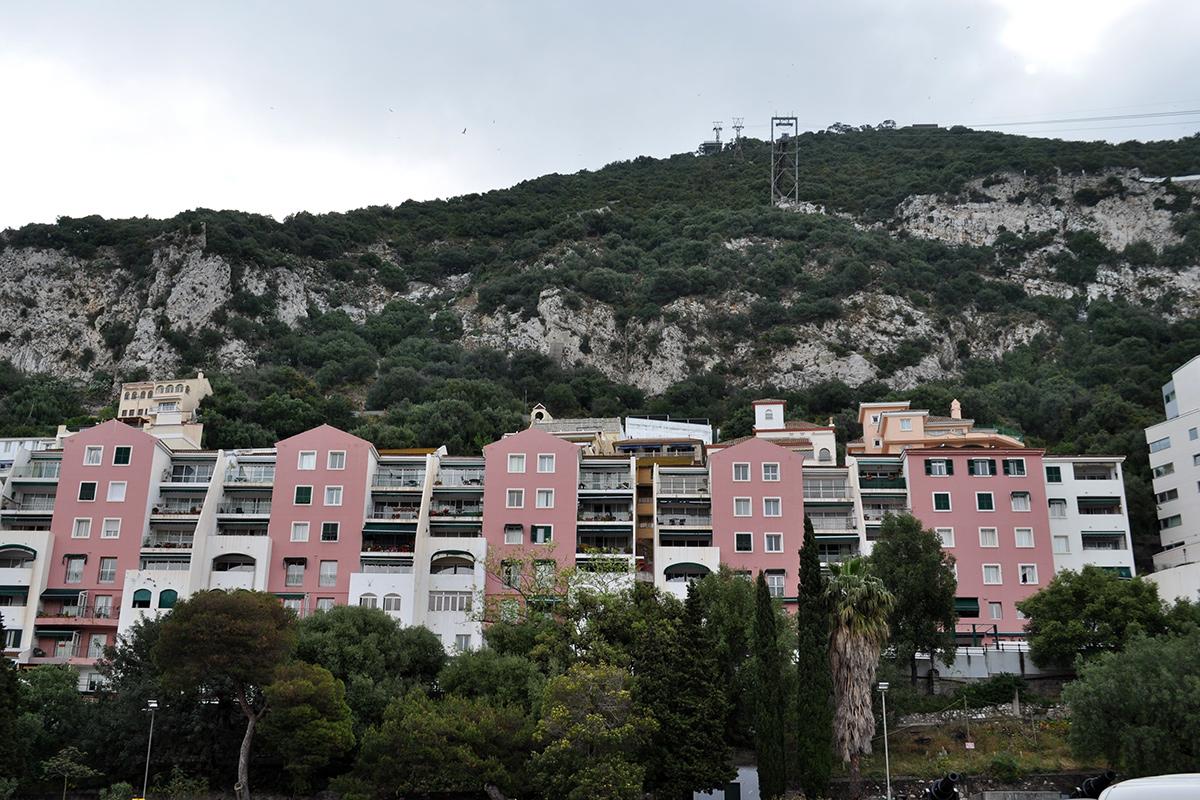 Lanovka na vrch Gibraltaru