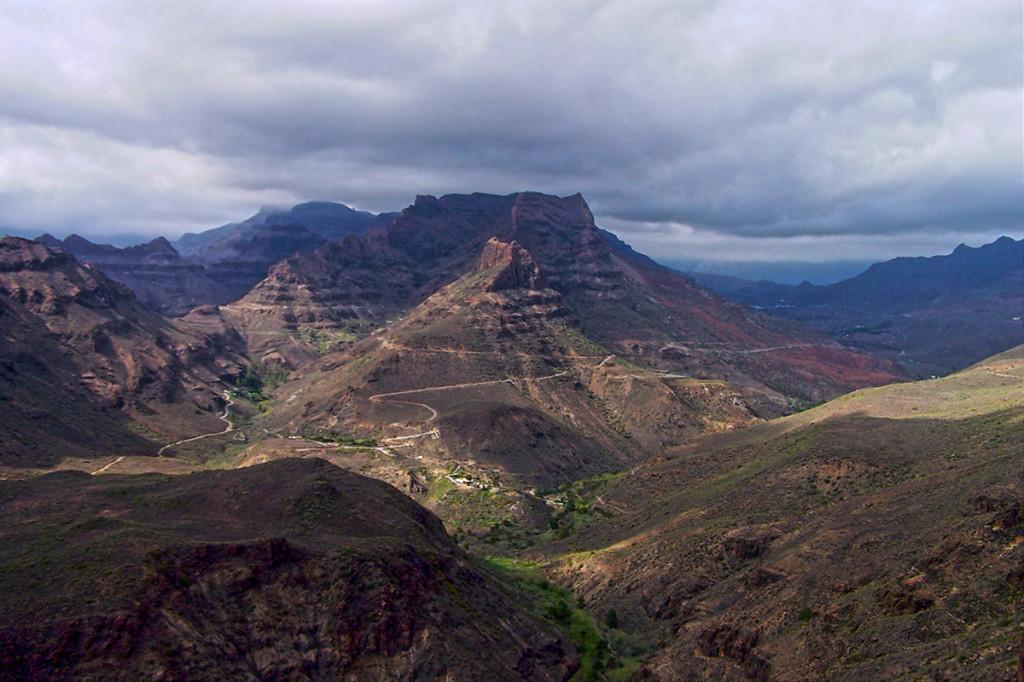 Gran Canaria vnútrozemie