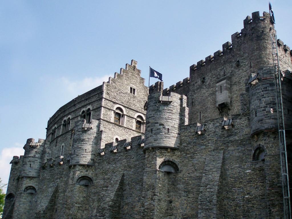 Gent - hrad Gravensteen