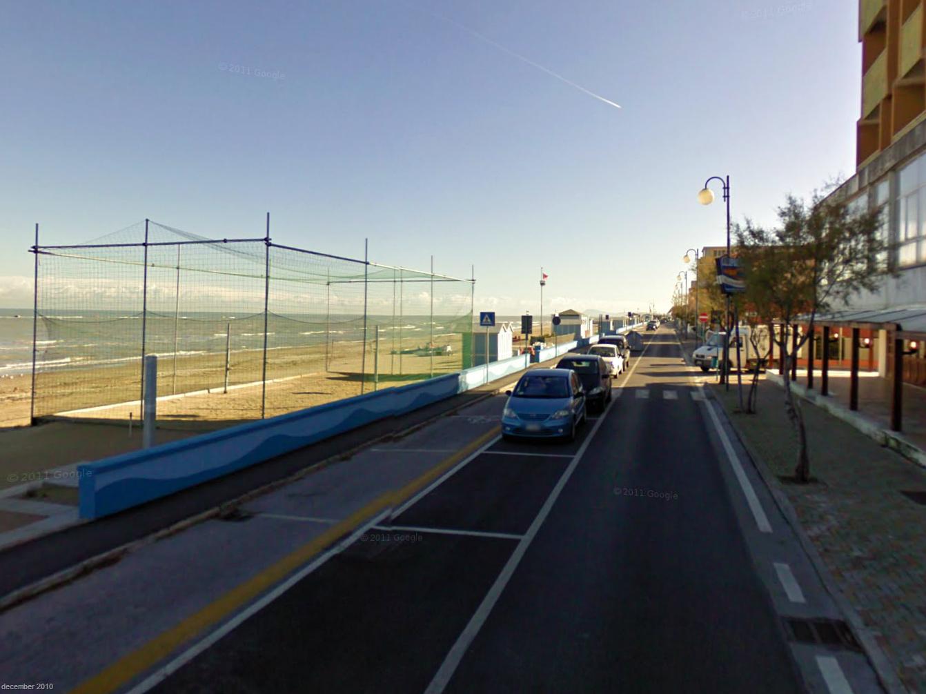 Marotta - pláž a volejbalové ihrisko