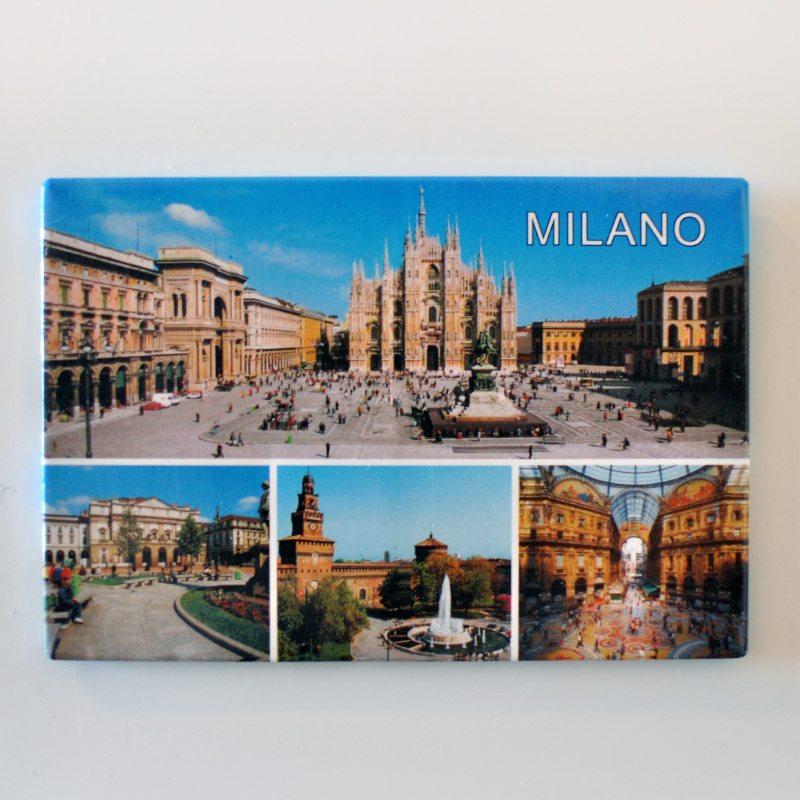 Magnetka z Milána, Taliansko