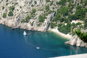 Nádherné pláže Chorvátsko