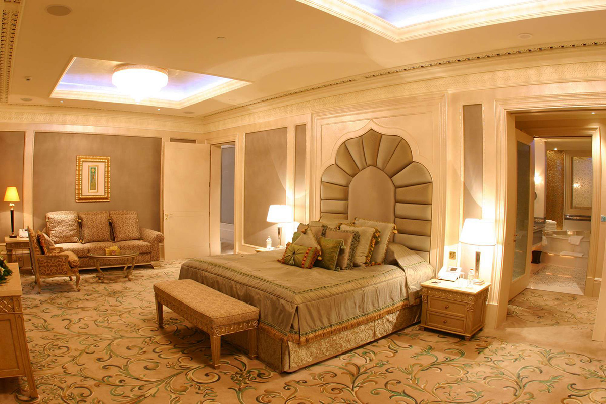 najluxusnejšie hotely - spálňa