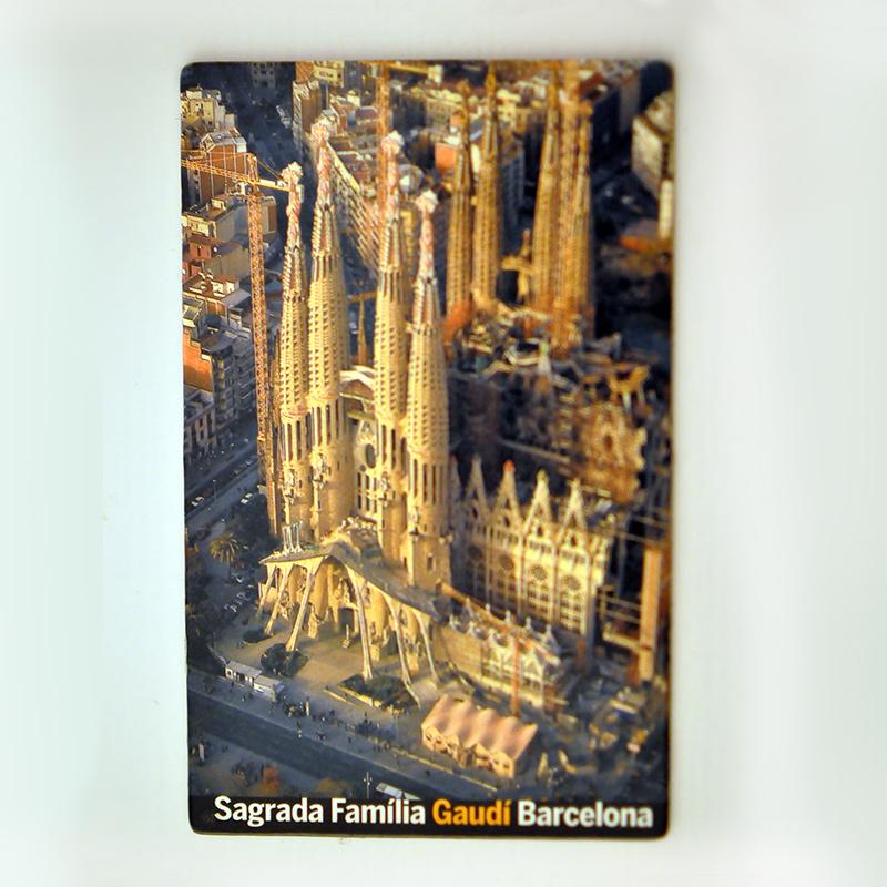Barcelona, Španielsko magnetky