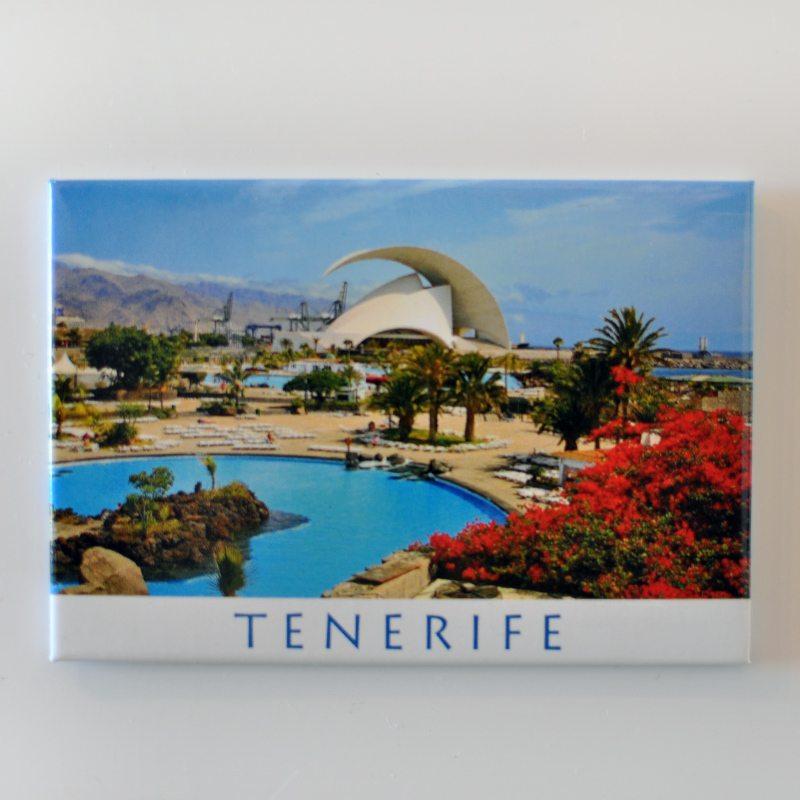 Magnetka z Tenerife, Španielsko