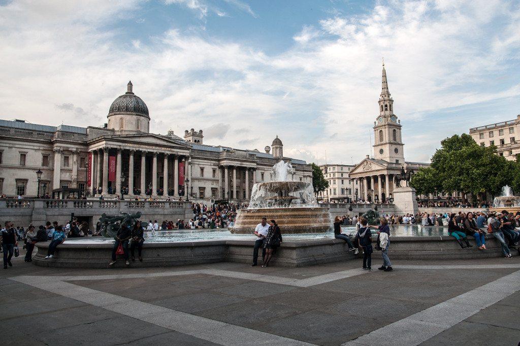 Trafalgarské námestie - Londýn