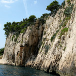 Makarska - útesy