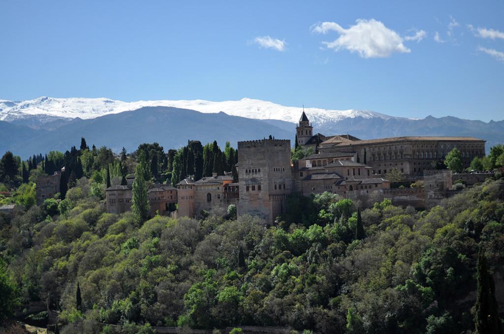 komplex Alhambra a Sierra Nevada