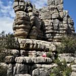 vysoké vápencové skaly - rezervácia El Tórcal