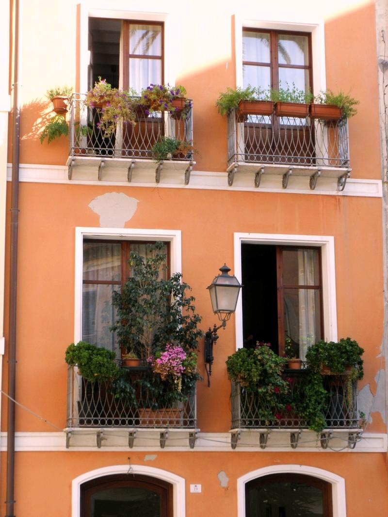 Balkóny Cagliari