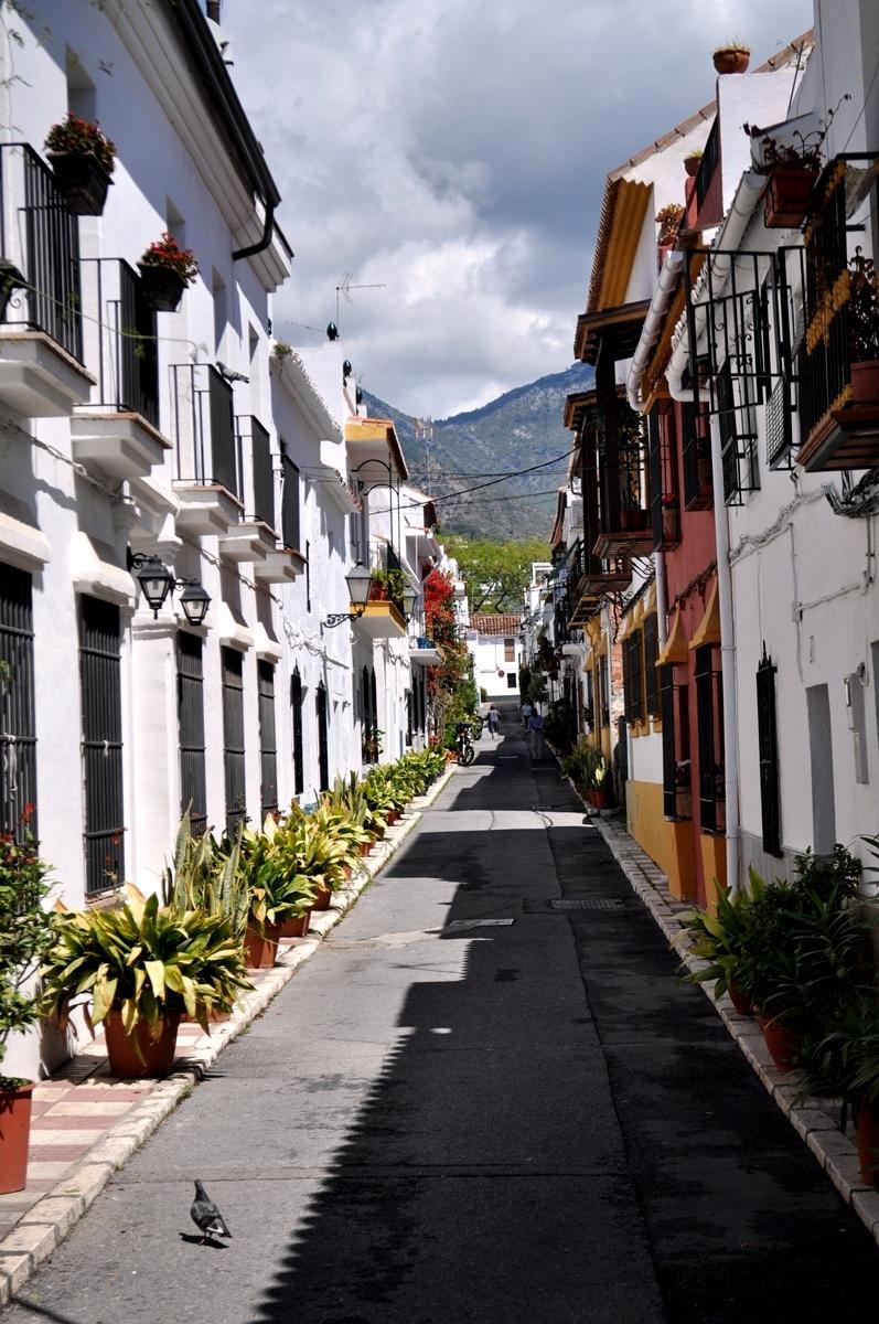 ulička - Marbella