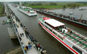 Magdeburg Water Bridge (Magdeburg, Germany)