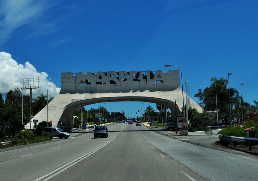 Marbella, príjazd