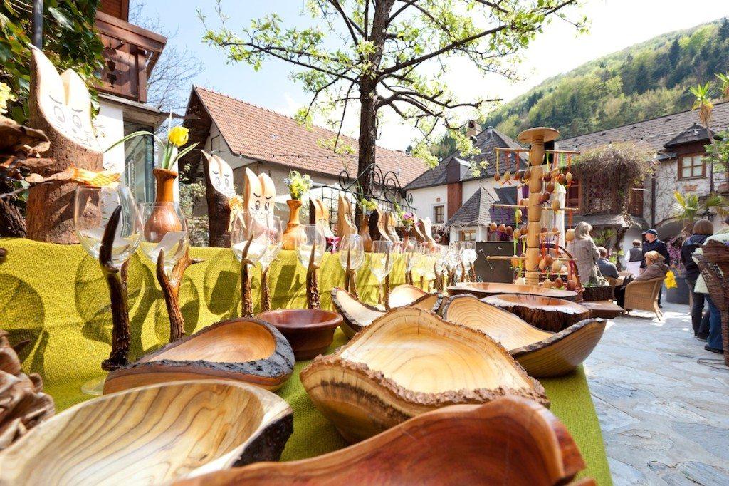 veľkonočné trhy Rakúsko